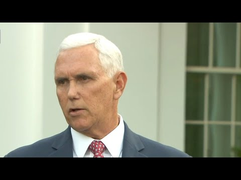 Pence says Trump told Erdogan to implement immediate ceasefire