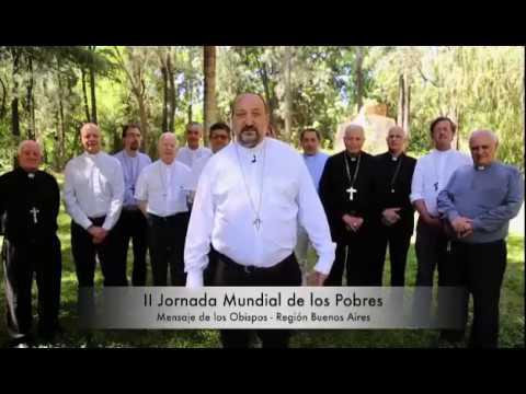 18 noviembre Jornada Mundial de los Pobres: Mons Gabriel Barba