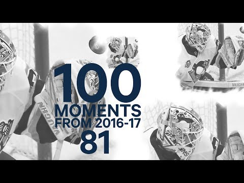Video: No. 81/100: Murray absolutely stuns John Tavares on the goalline