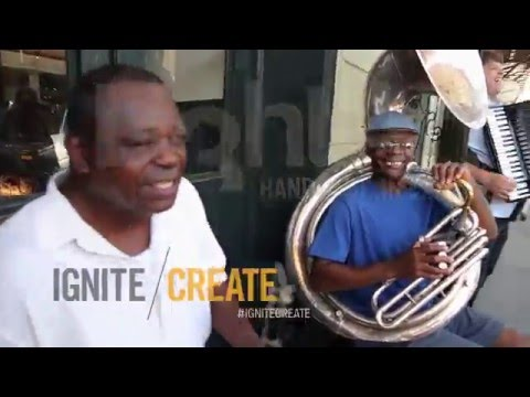 IGNITE/CREATE - Interview: Julius, Tuba Master