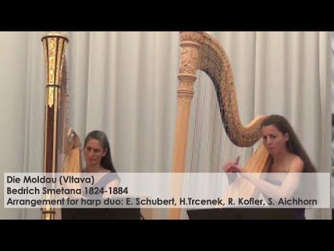 Moldau (Vltava) B.Smetana- Harp duo Silke Aichhorn and Regine Kofler