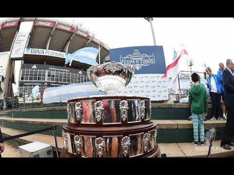 La Copa Davis, en el Estadio Monumental
