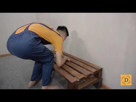 Hướng Dẫn Làm 1 Chiếc Giường Pallet Trong Tíc Tắc