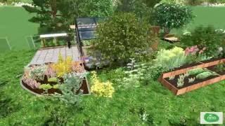 Permakultur-Hausgarten
