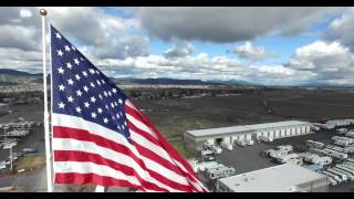 Liberty Lake (WA) United States  city images : U.S. flag Camping World Liberty Lake, WA
