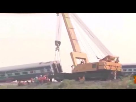 Lucknow rail-route effected after Delhi-Faizabad Express derails near Hapur in UP