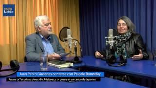 Juan Pablo Cárdenas conversa con Pascale Bonnefoy