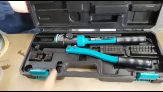 Steel Wire Rope Hydraulic Crimping and Swage Tool