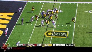 Bobby Richardson vs Iowa (2014)