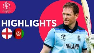 England vs Afghanistan - Match Highlights | ICC Cricket World Cup 2019