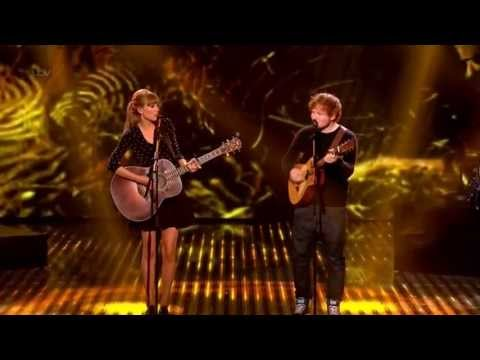 Taylor Swift & Ed Sheeran - Everything Has Changed Live On BGT (HD)