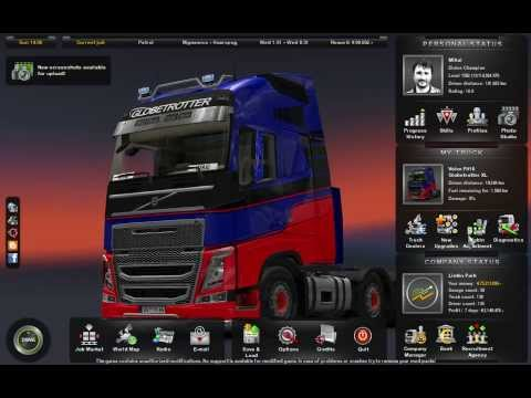 Euro Truck Simulator 2 Save Game