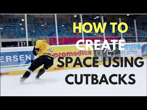 MHH Hockey Tutorials - How To Create Time and Space Using Cutbacks (видео)