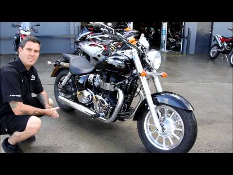 Trooper Lu's Motorcycles Triumph America review
