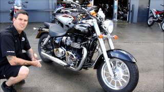 2. Trooper Lu's Motorcycles Triumph America review