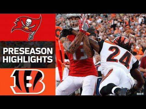 Buccaneers vs. Bengals | NFL Preseason Week 1 Game Highlights - Thời lượng: 3:46.