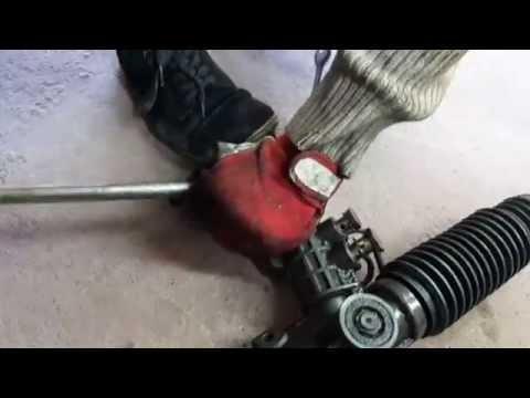 Как подтянуть рулевую рейку на бмв е36 мотор м40 1991 года снимок