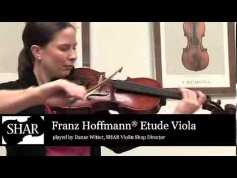Video - Previously Owned - Moderate Wear - Franz Hoffmann® Etude Viola - Instrument Only - 13 inch | TSA12513B
