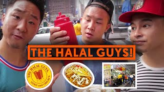 HALAL GUYS CART 53RD & 6TH NYC (Chicken and Rice) | Fung Bros