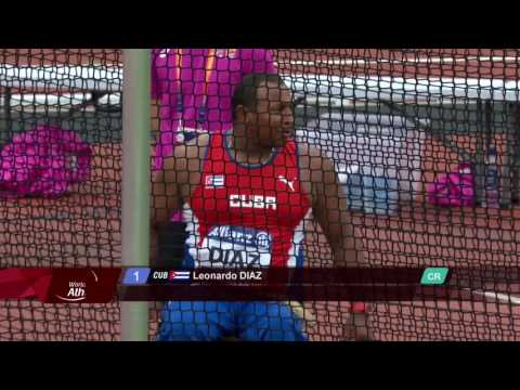 Leonardo Diaz | Gold Men's Discus F56 | Final | London 2017 World Para Athletics Championships