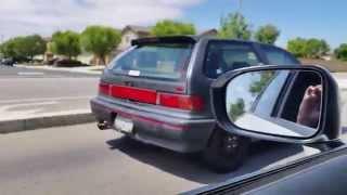2015 honda civic stock 1990 si intake exhaust headers
