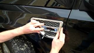 How To Change Land Rover Freelander 2 Side Vents