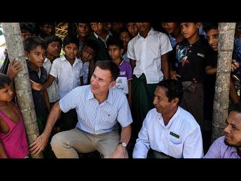 Στη Μιανμπάρ ο Υπ. Εξωτερικών της Μεγάλης Βρετανίας