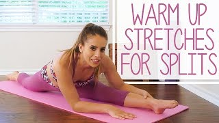 ♥ Help Support This Channel @ http://www.patreon.com/psychetruth130+ Exclusive Videos @ http://www.psychetruthpatrons.com ↓ Follow Me! Social Media Links Below ↓Warm-Up for Splits with Nico  Core Workout, Stretches, Flexibility for Dance, Gymnastics, CheerFollow Nico to warm up the lower body, back and core to help you get your splits.  This is a great warm-up to do before a more advanced stretch routine or before any dance, cheer or gymnastics performance.  It also make a great ab workout and stretch for beginners!Follow our Social Media https://www.instagram.com/psychetruthhttp://www.facebook.com/psychetruthvideoshttp://www.pinterest.com/psychetruthhttp://www.twitter.com/psychetruthhttp://www.youtube.com/psychetruthhttp://www.psychetruth.netWardrobe Provided by Dragonfly Brandhttp://www.dragonflybrand.com/Related Videos Flexibility Stretches For Dancers, Cheerleaders, Ballet, Gymnasts & The Splits Beginners Exercises https://www.youtube.com/watch?v=A16zIcbR5sU12 Minute Splits Stretch Flexibility Workout For Beginners How To Tutorial For The Splits https://www.youtube.com/watch?v=qZTGgEWPbLk10 Minute Beginners Workout, Full Body Flexibility Stretches, At Home Stretching Routine Exercises https://www.youtube.com/watch?v=9jAyRP0bqKAMusic By iChill Music Factoryhttp://www.ichillmusic.com Songs: Natural BeautyAlbum: Natural Beauty© Copyright 2017 Target Public Media, LLC. All Rights Reserved.