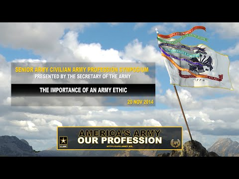 SACAPS - The Importance of an Army Ethic Screenshot