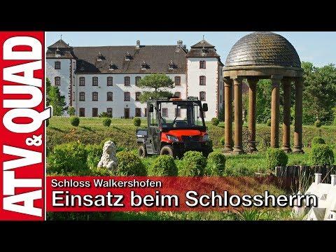 Schloss Walkershofen: Side-by-Side Ltec XS 1000 4x4 im Einsatz beim Schlossherrn