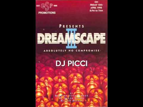 Dj Picci @ Dreamscape 3 @ The Sanctuary 10th April 1992