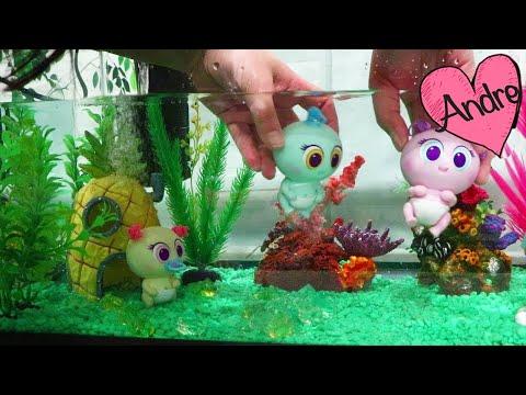 Nacieron los mikro meritos acuáticos de slime y lugar de juegos con agua - Juguetes con Andre