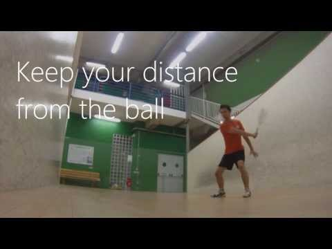 Strength of the shot – Squash tips #11 How to increase the speed and strength of your racket swing