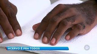 Biblioteca de Tupã disponibiliza acervo em braile para deficientes visuais