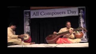SRI VENKATESWARASWAMY TEMPLE: ACD MUSIC FESTIVAL:  MEDURI SRINIVAS VEENA CONCERT-1