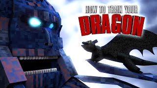 Minecraft | HOW TO TRAIN YOUR DRAGON MOD Showcase! (Toothless, Dragons, How to Train your Dragon 2)