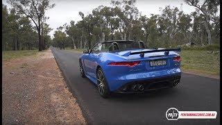 2017 Jaguar F-Type SVR 0-100km/h & engine sound. For more information head over to http://performancedrive.com.au/2017-jaguar-f-type-svr-review-video-1317/ for the full review.2017 Jaguar F-Type SVR5.0-litre supercharged V8423kW and 700NmEight-speed automatic, all-wheel driveFor more stats and test results simply head over to our performance data page here: http://performancedrive.com.au/performance-data/