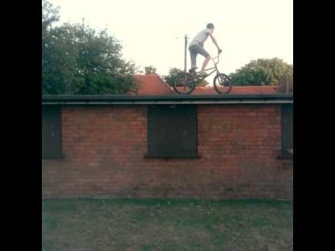Bmx street roof drop - kurtis drant