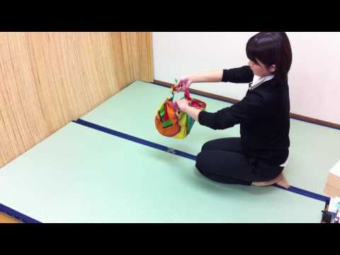 風呂敷の結び方 包み方 風呂敷バッグ 作り方動画 バルーンバッグ