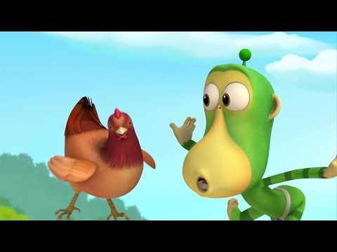 Cartoons For Children - Alien Monkeys - Animation For Kids