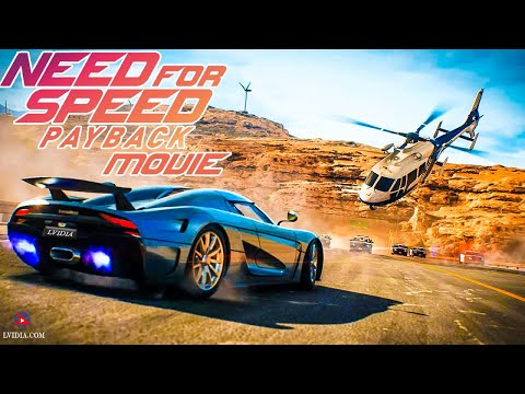 Need for Speed Payback All Cutscenes Cinematic Full Movie