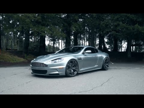 Aston Martin DBS on PUR 9INE Wheels by California Wheels