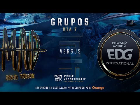 MAD TEAM VS EDWARD GAMING | WORLDS GRUPOS | DÍA 6 | LEAGUE OF LEGENDS WORLDS (2018)