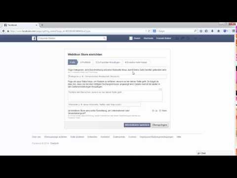 Facebook Seite für Unternehmen erstellen – 2014