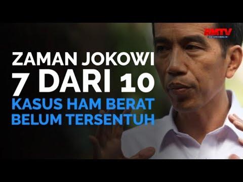 Zaman Jokowi, 7 Dari 10 Kasus HAM Berat Belum Tersentuh