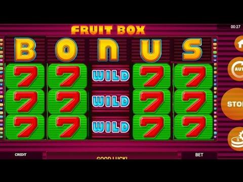 FRUIT BOX / الغضب من الكازينو 😀 when you get angry at the casino / FORZZA CASINO TUNISIE