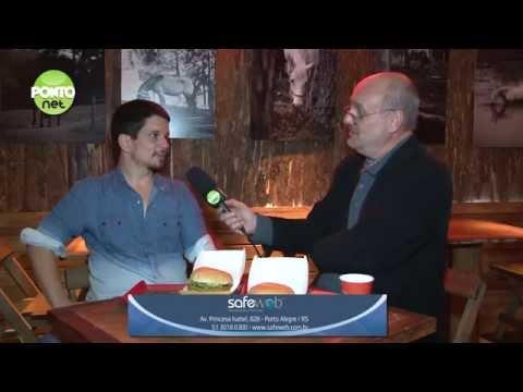 Rodrigo Bragaglia criador do B Burger é o entrevistado de Ricardo Orlandini