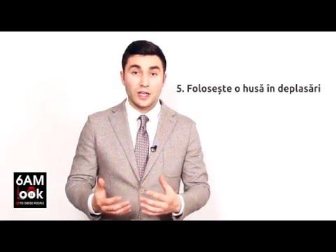 6 Reguli de intretinere pentru costum