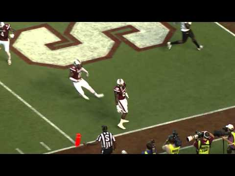 Mike Davis 33-yard touchdown run vs East Carolina 2014 video.