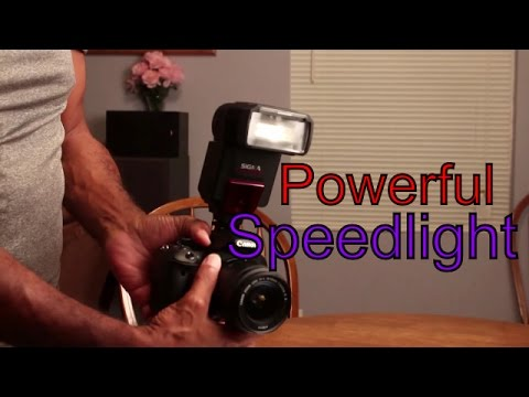 The Sigma EF 610 DG Super Speedlight Review